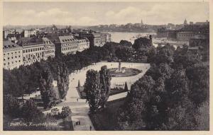 Kungstradgarden, Stockholm, Sweden, 1910-1920s