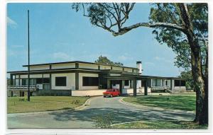 Japanese Embassy Canberra Australia postcard