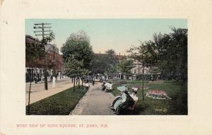 ST. JOHN, New Brunswick, Canada, 00-10s; West Side of King Square