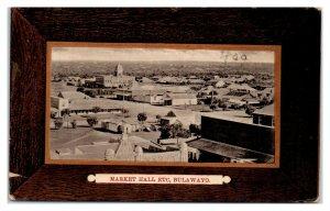 Early 1900s Market Hall, Bulawayo, Rhodesia now Zimbabwe Postcard *6J7