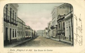 brazil, PORTO ALEGRE, Rua Duque de Caxias (1906) Stamp