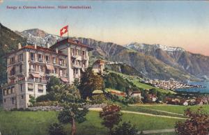 Hotel Montbrillant, Baugy S. Clarens-Montreux, France, 1900-1910s