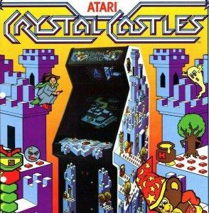 Atari Crystal Castles Arcade FLYER Original NOS 1983 Video Game Art Bentley Bear