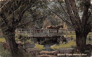 Whittier's Bridge Haverhill, Massachusetts Postcard