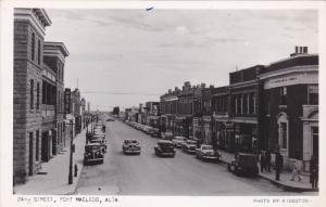 RP: 24th Street , FORT MACLEOD , Alberta , Canada , 1930s