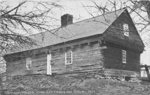 25488 NH, Dover, Garrison House  over 270 years old