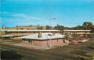 Billings Montana~Esquire Motel Cafe and Lounge~1971 Postcard