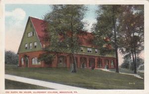 MEADVILLE, Pennsylvania, 00-10s; Phi Kappa Psi House, Allegheny College