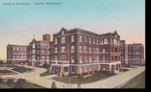 Washington Seattle House Of Providence Albertype