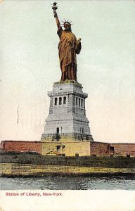 Statue of Liberty Post Card New York City, USA 1907