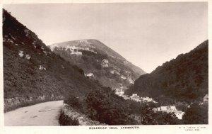Vintage Postcard 1910's RPPC Holerday Hill Lynmouth Devon England UK