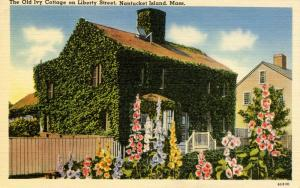 MA - Nantucket. The Old Ivy Lodge on Liberty Street