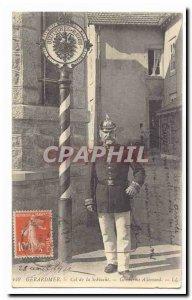 Gerardmer Old Postcard Col de la Schlucht German Gendarme