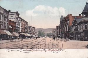 New York Hornesville Main Street Looking East 1907