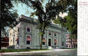 Massachusetts Lawrence Post Office 1908