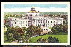 USA Postcard  Library of Congress Washington DC