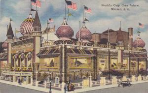 World's Only Corn Palace, Mitchell, South Dakota, 30-40s