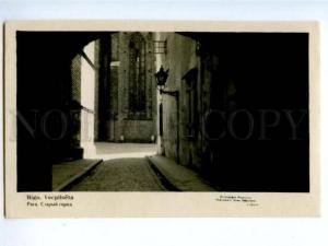 173939 LATVIA RIGA Old town Vecpilseta Vintage photo postcard