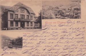 Gruss aus Wildbad , Germany , PU-1900 ; Hotel Weil