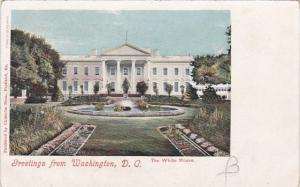 The White House Greetings From Washington D C