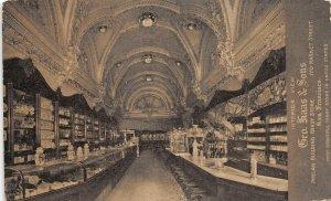 H65/ San Francisco California Postcard c1914 Haas & Sons Interior Candy Store 35