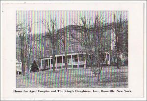 Home for Aged Couples & Kings Daughters, Dansville NY