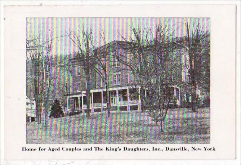 Home for Aged Couples & The King's Daughters, Dansville NY