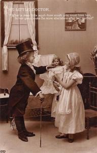 The Little Doctor, dear little soul, love, mother, elegant children doll 1910
