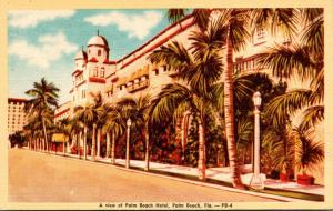 Florida Palm Beach View Of Palm Beach Hotel Dexter Press