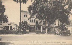 DAYTONA BEACH , Florida , 1930s ; Lyndhurst Hotel