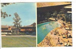 2-Views, The Talisman Motor Inn, Swimming Pool, Ottawa, Ontario, Canada, 1940...