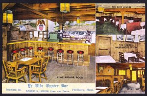 Ye Olde Oyster Bar - Fitchburg, MA - fresh card