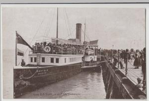 Shipping; Paddle Steamer SS Norfolk At Pier, Harwich PPC By J Salmon, Unposted