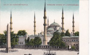 CONSTANTINOPLE, Turkey, 1900-1910´s; Mosquee Ahmed Et L'hippodrome