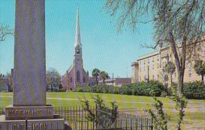 South Carolina Charleston Marion Sqquare and St Matthews Lutheran Church