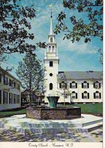 Rhode Island Newport Trinity Church Queen Anne Square