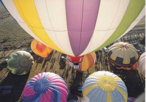 View from a Hot Air Balloon, Albuquerque, New Mexico, 40-60s