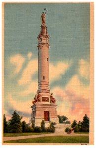 Connecticut  New Haven , Soldier's  Monument , East Rock Park