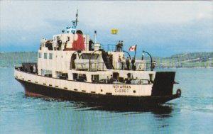 Ferry Traversier M/V INCH ARRAN Dalhousie N.B. to A Miguasha Quebec , Canad...