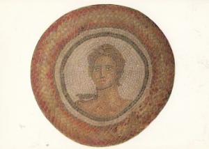 Rudston Roman Bird Swallow Rome Chariot Mythology Yorkshire Mural Postcard