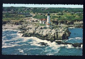 Portland, Maine/ME Postcard, Portland Headlight/Lighthouse/Light, #4