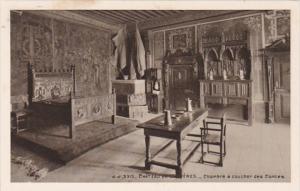 Switzerland Chateau de Gruyeres Chambre a coucher des Comtes