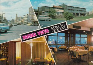 GEELONG, Victoria, Australia, 1950-70s; Buena Vista Motor Inn, 4-views