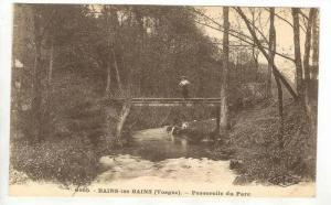 Bains-les-BAINS (Vosges), France, 00-10s   Passerelle du Parc