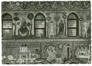 Italy, Monreale, Interno del Duomo, Storia della Genesi unused RP Postcard