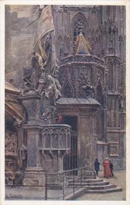 Wien , Stefanskirche , Capistrankanzel , Austria , 00-10s