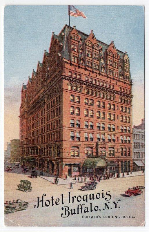 Buffalo, N.Y., Hotel Iroquois