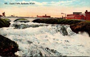 Washington Spokane Upper Falls