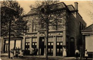 CPA ASSEN Hotel Café Restaurant De Poort van Cleef NETHERLANDS (604390)