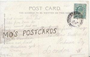 Genealogy Postcard - Harfield - New Quebec St - Portman Sq - London - Ref 6253A